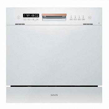 新品发售: 华凌 Vie6 WQP8-HW3909E 嵌入式 洗碗机 8套