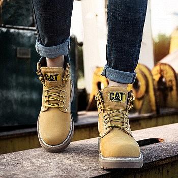 新低价、黑五预售:CAT卡特 BT70042 中性款经典工装靴