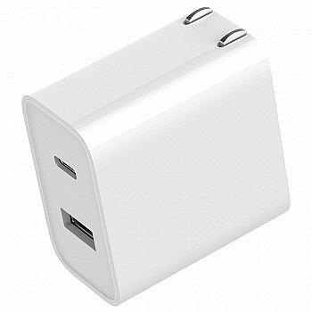 MI 小米 USB双口充电器 30W快充版(1A1C)