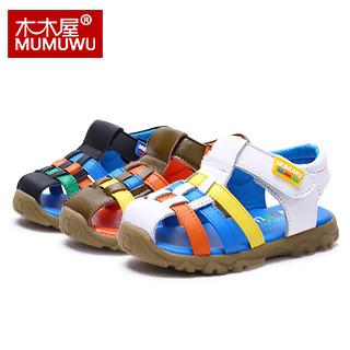 【木木屋宝宝鞋】1-3-6儿童多彩编织鞋带学步鞋