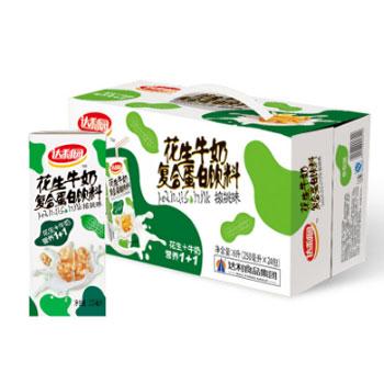 苏宁易购达利园 花生牛奶饮品 早餐奶250ml*24盒