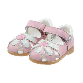 可爱婴儿凉鞋钩法