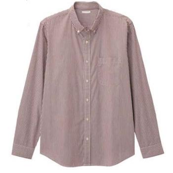 天猫16日0点: GU极优 男士条纹府绸衬衫