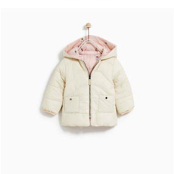 天猫双11预告:ZARA 女 婴两面穿绗缝夹克棉服