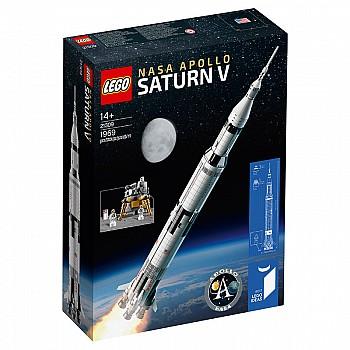 18日0点:LEGO 乐高 Ideas系列 美国宇航局阿波罗土星五号 21309